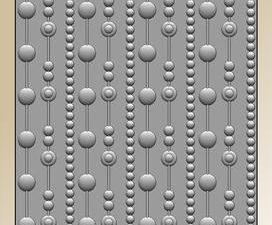BLE1002 By Lene Embossingfolder 3D, Dots-0