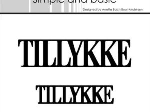 SBD019 Simple and Basic die, Tillykke-0