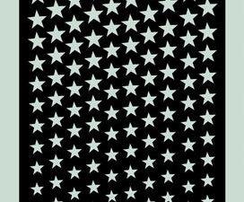 SL001 Dixi Craft Stencil, Stars-1-0