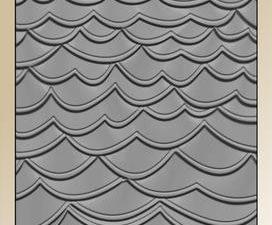 BLE1007 By Lene Embossingfolder 3D, Waves-0