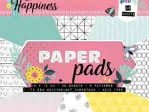 PPCR111 StudioLight Papirblok A5,diverse design-0