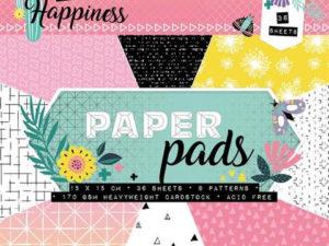 PPCR112 StudioLight Papirblok A5,diverse design-0