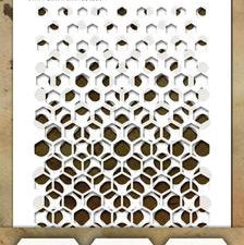 THMST039 Tim Holtz Stampers Anonymous Stencil Mini Stencil Set #39-0