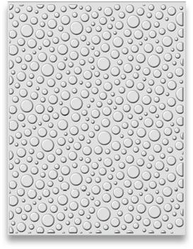 "EF3D-011 Creative Expressions 3D Embossing Folders, ""Bubble Burst"" -0"