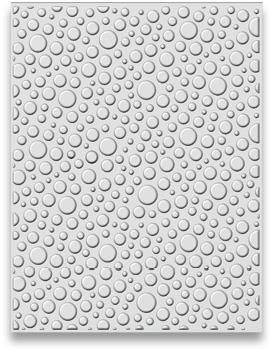 "EF3D-011 Creative Expressions 3D Embossing Folders, ""Bubble Burst"" -0"