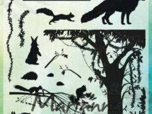 CS1021 Marianne Design Stempel Silhouette Forrest Animals-0