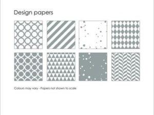 SBP001 Simple and Basic Design Papir, grå-0