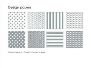 SBP002 Simple and Basic Design Papir, grå-0