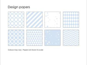 SBP003 Simple and Basic Design Papir, lyseblå-0