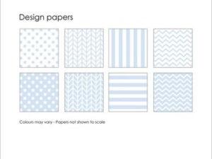 SBP004 Simple and Basic Design Papir, lyseblå-0