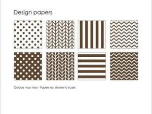 SBP008 Simple and Basic Design Papir, mørkebrun-0