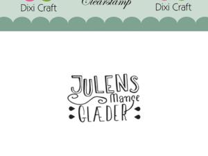 Stampl036 Dixi Craft Clearstamp, Julens mange ....-0