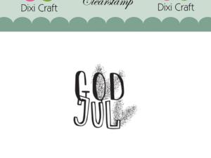 Stampl037 Dixi Craft Clearstamp, God Jul-0
