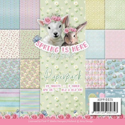 ADPP10025 Amy Design Papirsblok Spring Is Here-0