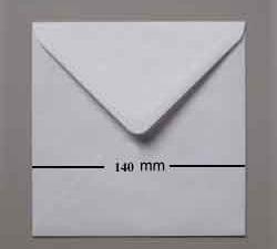 KU14 Kuverter 14,0 x 14.0 hvide, 10stk-0