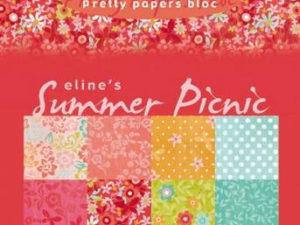 PB7056 Marianne Design Papirblok, Eline's Summer Picnic-0