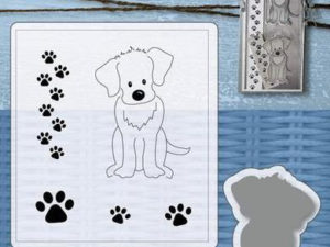 6004/0034 JOY Die Cut/Stamp Mery's Dog-0