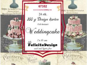 67352 Felicita Design Toppers 7 x 10 cm Weddingcake-0