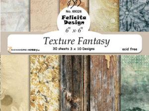 69326 Felicita Design papirsblok 15 x 15 cm Texture Fantasy-0