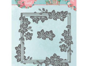 YCD10164 Yvonne Creations Die Flowers With a Twist, Orchid Frame-0