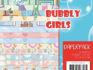 YCPP10023 Yvonne Design Papirblok Bubbly Girls-0