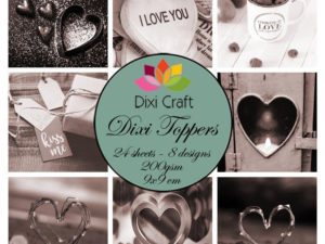 ETL030 Dixi Craft Toppers, Forelsket-0