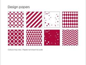 SBP011 Simple and Basic Design Papir, rød-0