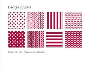 SBP012 Simple and Basic Design Papir, rød-0