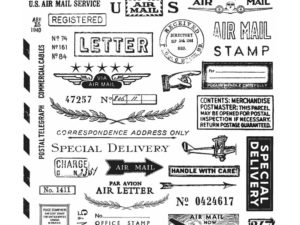 CMS225 Stampers Anonymous Tim Holtz, Correspondence-0