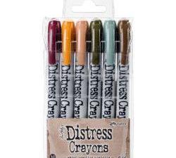 TDBK51800 Ranger Tim Holtz Distress Crayons sæt 10, 6 stk-0