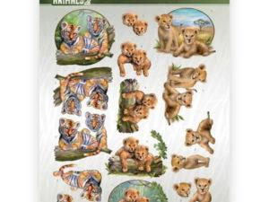 CD11302 Amy Design 3D 1 ark Wild Animals 2-0