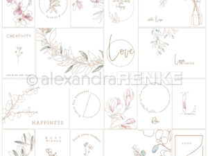 10.1169 Alexandra Renke Designpaper 30x30, Card Sheet Creativity International-0