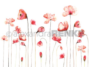 10.310 Alexandra Renke Designpaper 30x30, Red Poppy International-0