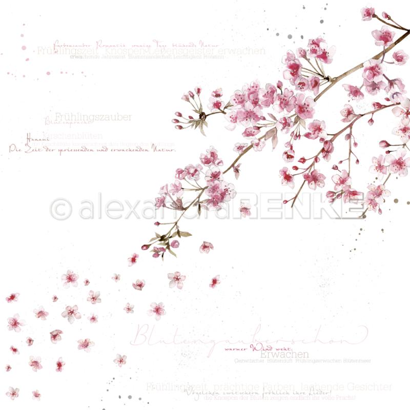 10.880 Alexandra Renke Designpaper 30x30, Blossom Magic-0