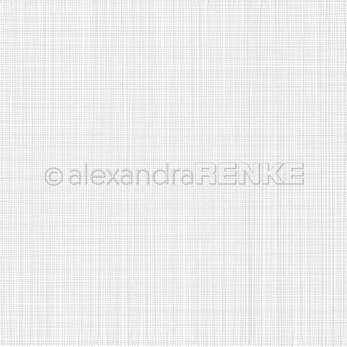 10.1296 Alexandra Renke Designpaper 30x30, Grid Grey-0