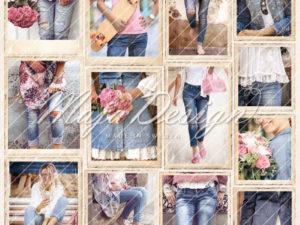 DEN-1038 Maja Design Denim & Girls, Girls in Jeans -0