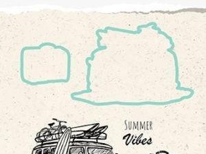 HDCS002 Nellie Snellen Die/Clearstamp - Snellen Design, Summer Vibes-0