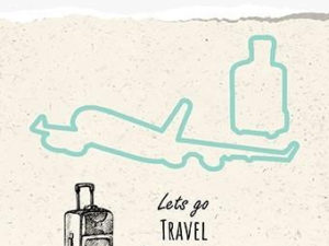 HDCS003 Nellie Snellen Die/Clearstamp - Snellen Design, Lets Go Travel-0
