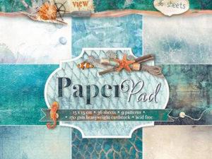 PPOV117 Studiolight Papirblok Ocean View-0