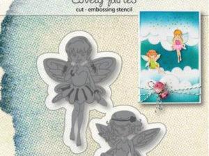 6002/1306 JOY Die Cut/Emb Lovely Fairies-0