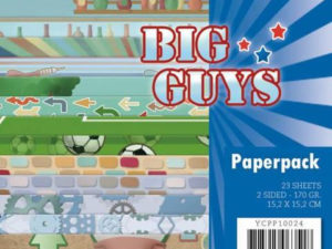 YCPP10024 Yvonne Design Papirblok Big Guys-0