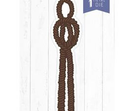 S-NAUT-MD-AGER Crafters Companion Die, Aged Rope-0