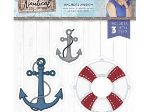 S-NAUT-MD-ANAW Crafters Companion Die, Anchors Aweigh-0