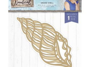 S-NAUT-MD-GRSH Crafters Companion Die, Grand Shell-0