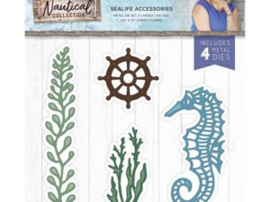 S-NAUT-MD-SEAC Crafters Companion Die, Sealife Accessories-0