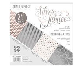 """9435E Craft Perfect - 6x6 Card Pack """"Speciality Card Pack - Silver Jubilee-0"""