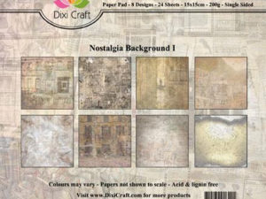 PP0095 Dixi Craft Papirspakning Nostagia Background 1-0