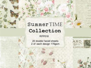 RPP018 Reprint papir 15x15, Summer Time Collection -0