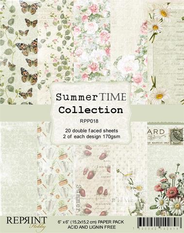 RPP018 Reprint papir 15x15, Summer Time Collection -0