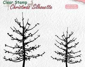 CSIL010 Nellie Snellen Clearstamp silhouette, Leafless Trees-0
